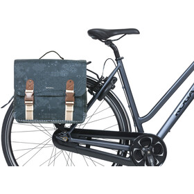 Basil Bohème Double Bicycle Bag MIK 35l, indigo blue